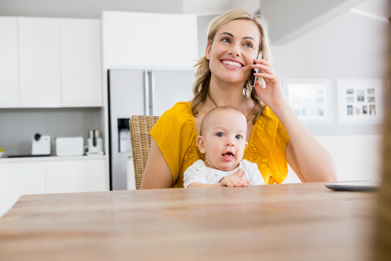 Effektiv arbeiten mit Kind